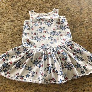 Girls Lands End summer dress